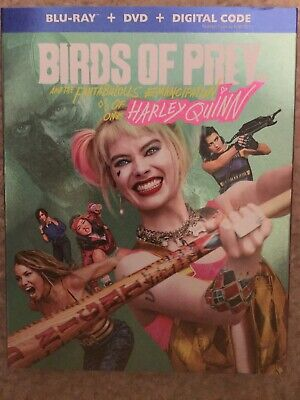 Birds of Prey (BLU-RAY + DVD + DIGITAL CODE , BRAND NEW! FREE SHIP! USA!!!