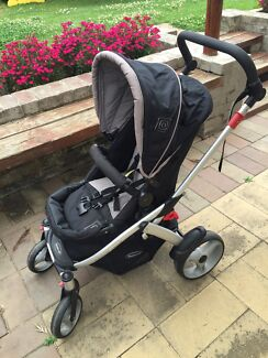 Steelcraft Cruiser Pram and Carrier/Capsule  St Clair Penrith Area Preview