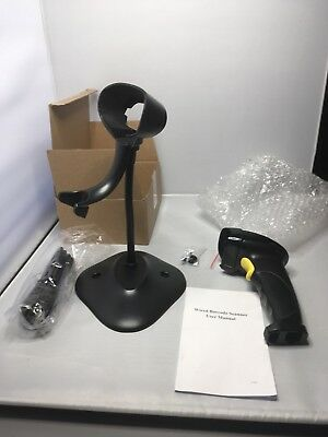 Wired Barcode Scanner With Stand