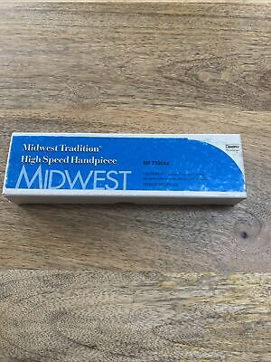 New Midwest Tradition Hp Handpiece 750044 Standard 4-hole In Sealed Box.