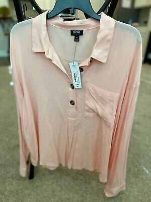 a.n.a. Pink Top Size XL New with tags