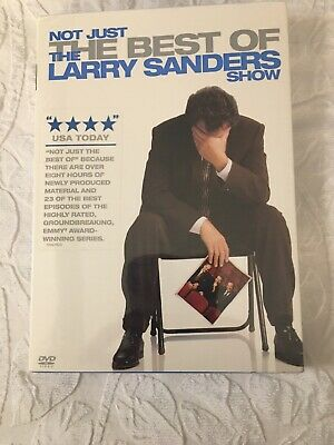Not Just the Best of the Larry Sanders Show (DVD 2007 4-Disc Set) Sealed