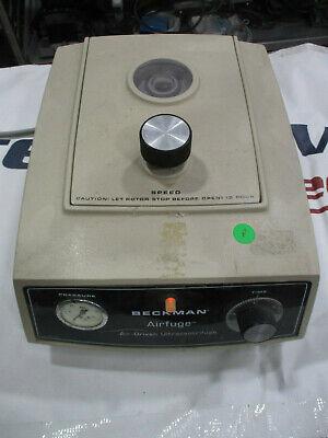 Beckman Coulter Airfuge Ultracentrifuge Benchtop Centrifuge