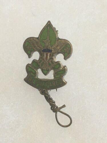 Scoutmaster Miniature Green Enamel Pin