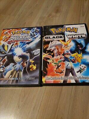 3 Pokemon Movies: Kyurem Vs. the Sword of Justice - Black victini And Reshiram