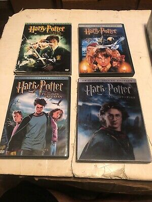 Harry Potter Dvd Lot