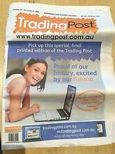 FINAL PRINT EDITION OF TRADING POST -  COLLECTIBLE ICON Melbourne CBD Melbourne City Preview