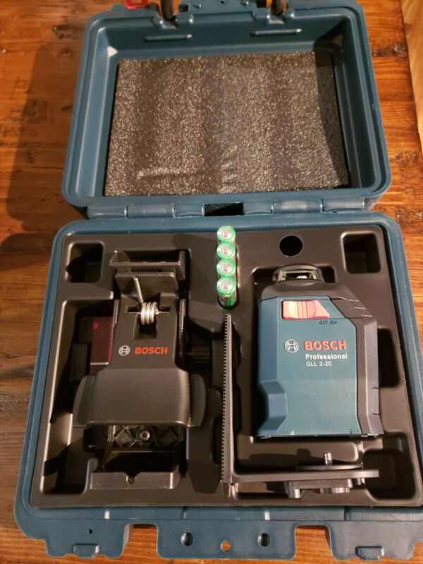 BOSCH 65 ft 360 Line and Cross Laser GLL 2-20