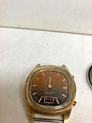 ZENITH QUARTZ WATCH  FOR REPAIR ONLY