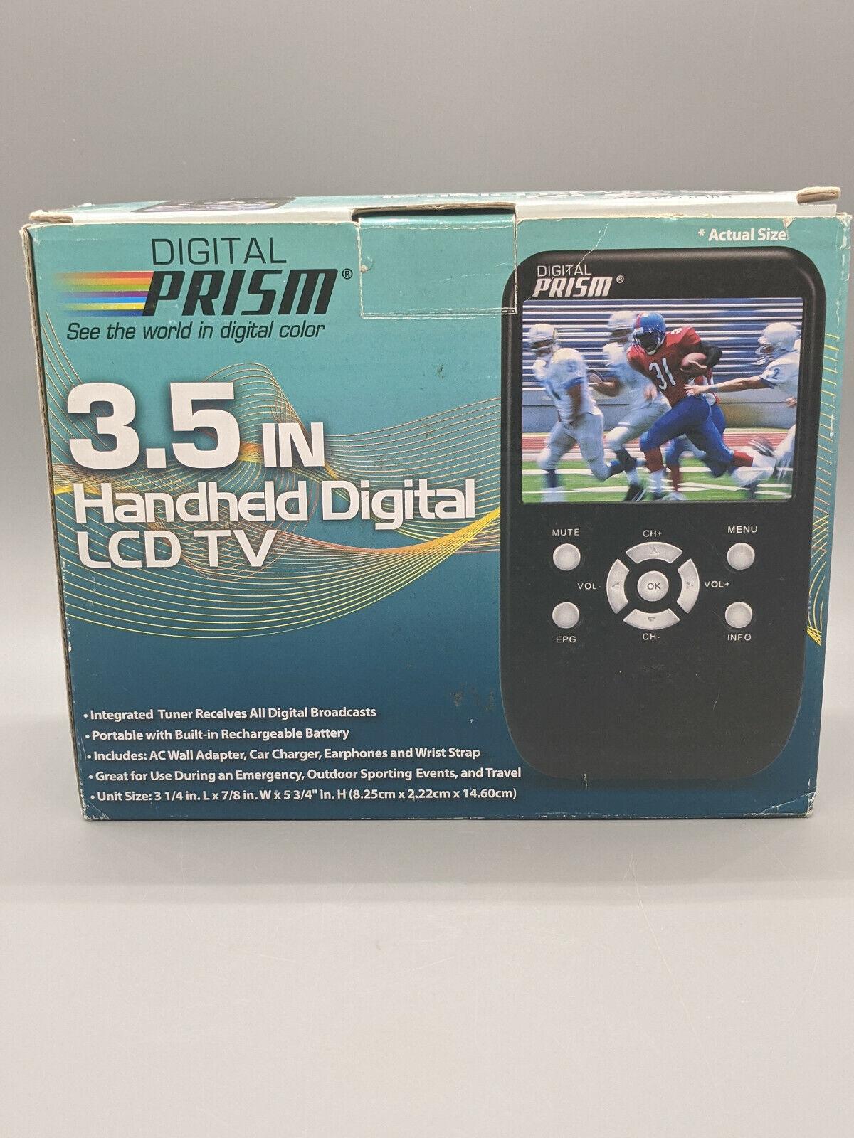 "Digital Prism 3.5"" Handheld Portable Digital LCD TV--- BRAND"