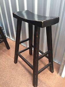 Solid timber Chinese stool Windsor Stonnington Area Preview