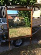 Large mirror old frame Caloundra Caloundra Area Preview