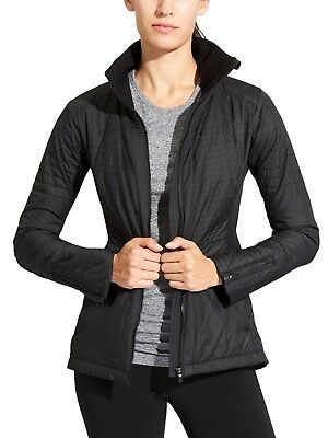 (ATHLETA Sprinter Jacket, NWT, Medium, Black, Winter Training, MSRP $198)