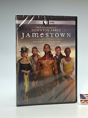 JAMESTOWN: THE COMPLETE COLLECTION TV SERIES 6 DVD Set Seasons 1 2 3 1-3 US New