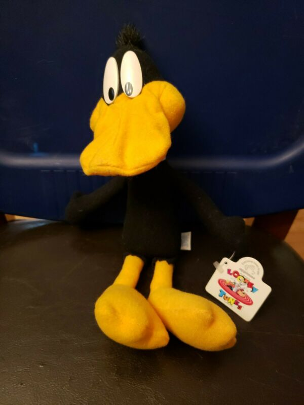 Daffy Duck Plush Stuffed Animal Applause 1994