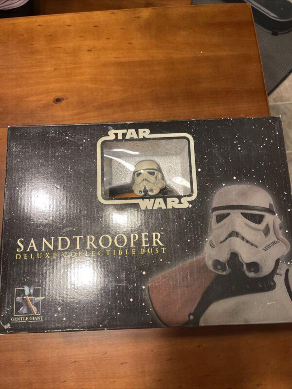 Gentle Giant Star Wars Sandtrooper Deluxe Collectible Mini-Bust Sergeant NEW! #1