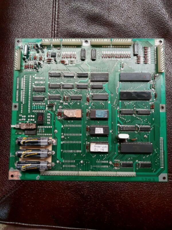 Williams Laser Cue System 7 Pinball Mpu Working!