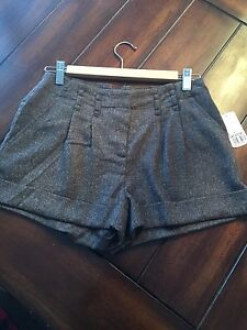 Forever21 wool dress shorts