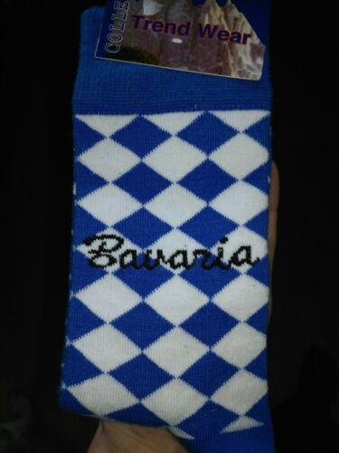 Trachtenstrümpfe witzige Socken im Bayernmuster neu OVP Gr 39-42