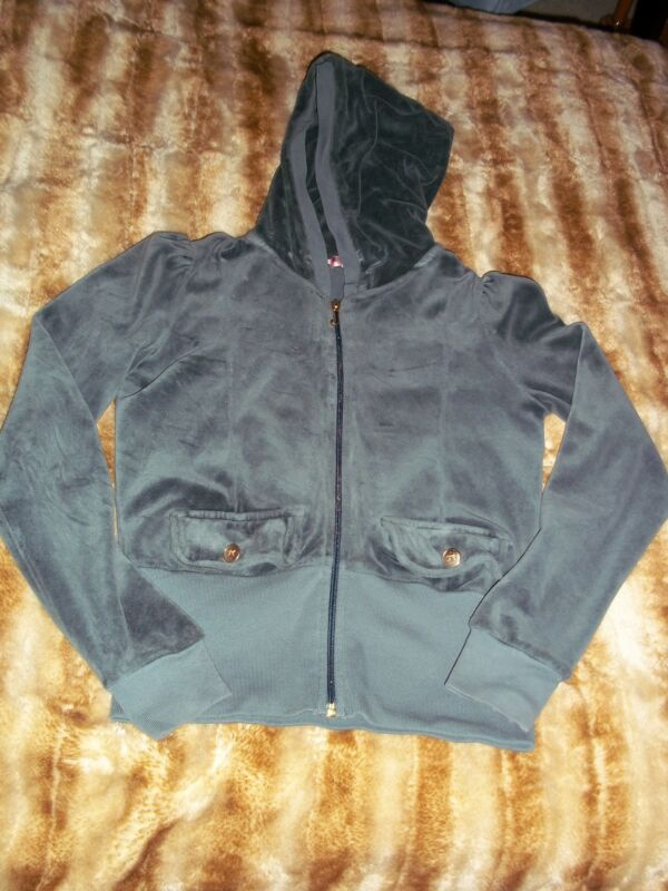 Juicy couture girls hoodie sweater size 10