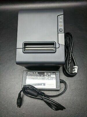 Epson Tm-t88v 089 M244a Usb Thermal Receipt Printer W Ps-180 Supply