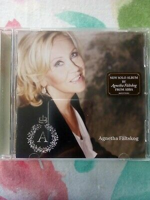 CD - A - Agnetha Faltskog - 2013 -excellent condition-Abba + promo sticker info