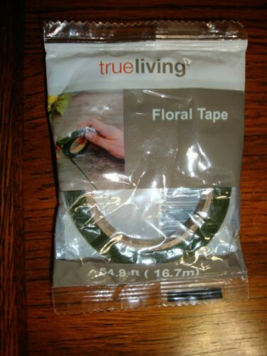 True Living Floral Tape 1/2 in. X 54.8 ft.  NEW