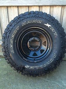 Desert hawk 31/10.5 r15 wheel and tyre Meadow Heights Hume Area Preview