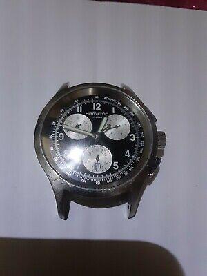 HAMILTON Khaki Aviation H764120 Silver Mens Wrist Watch W/O BAND