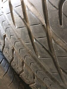 4 summer tires with mag 195/65/15 (4x100)