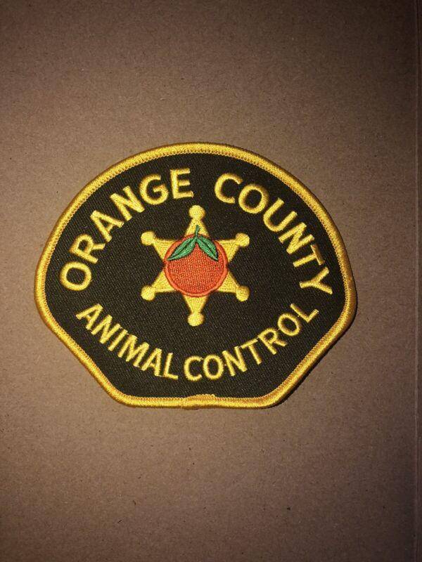 Orange County California Animal Control Police Patch