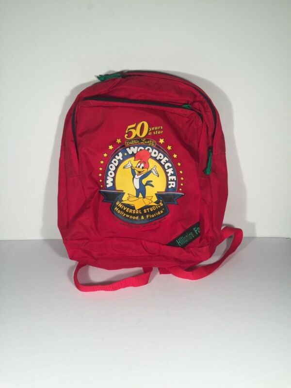 1989 Woody Woodpecker Backpack Mint Condition