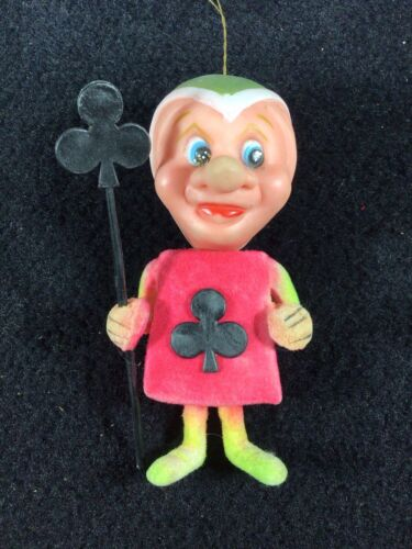 VINTAGE 1970 DELTA NOVELTY CLUBS CHARACTER RATROD CAR REARVIEW MIRROR ORNAMENT