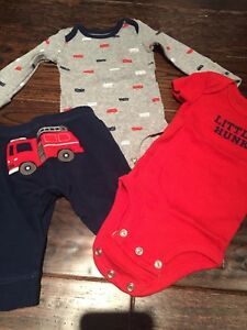 Baby Boy Fire truck Clothes