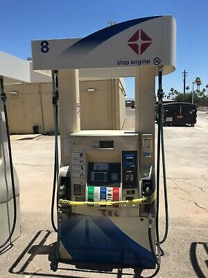 Four Wayne Dispenser Gas Pump White Arco All Parts Working