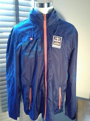 Red Bull KTM Factory Racing Full Zip Windbreaker Hoodie Jacket Size XXL  P10651, used for sale  Shipping to India
