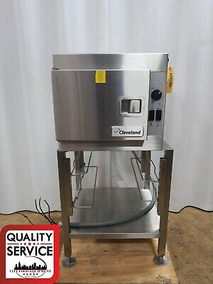 Cleveland Range 21cet8 Countertop Steamcraft Manual Control Electric Steamer