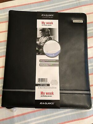 At-a-glance Day Runner Deco Slim Profile Starter Set Undated 3 Rings Size 5
