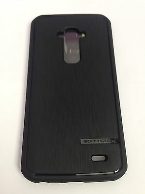 New Bodyglove Satin Black TPU Rubber Case Cover For LG G Flex Body Glove Rubber Covers