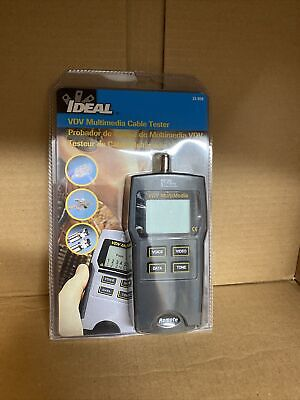 New Ideal Vdv Multimedia Cable Tester - Nib - Factory Sealed