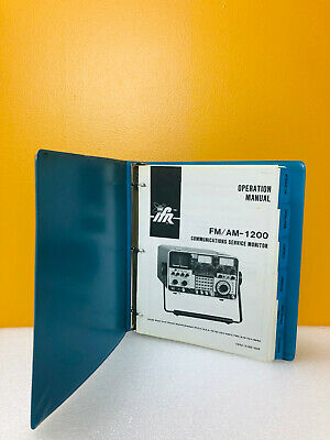 Ifr Fm Am-1200 Communications Service Monitor Operation Manual