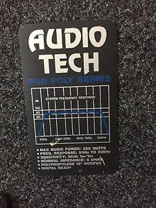 Audio Tech Pro Poly Speakers