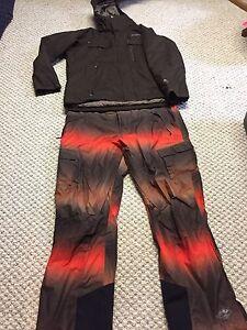 Men winter ski jacket pants Columbia combo 2XL