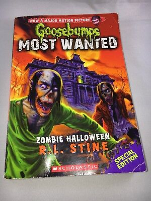 Goosebumps Most Wanted Special Edition #1: Zombie - Zombie Halloween Rl Stine