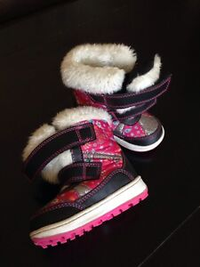 Toddler Girl Winter Boots - size 5