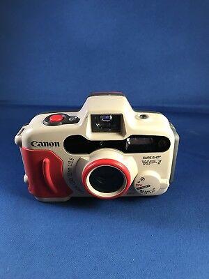 HTF Canon Sure Shot WP-1 35mm Weatherproof, super clean unit Excellent