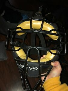 Back catcher /umpire mask