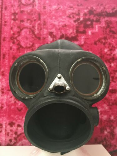 Slipknot Sid Wilson Self Titled BCD Gas Mask with Leather Strapping
