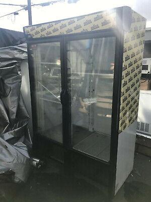 Torrey R36 Glass Two Door Display Cooler Refrigerator
