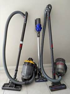 3 Dyson Vacuum Cleaners